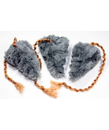 Three Medium Cat Toy Organic Catnip Mice - $6.95