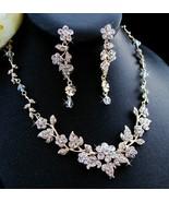 Swarovski Crystal and Rhinestone Gold Wedding J... - $81.99