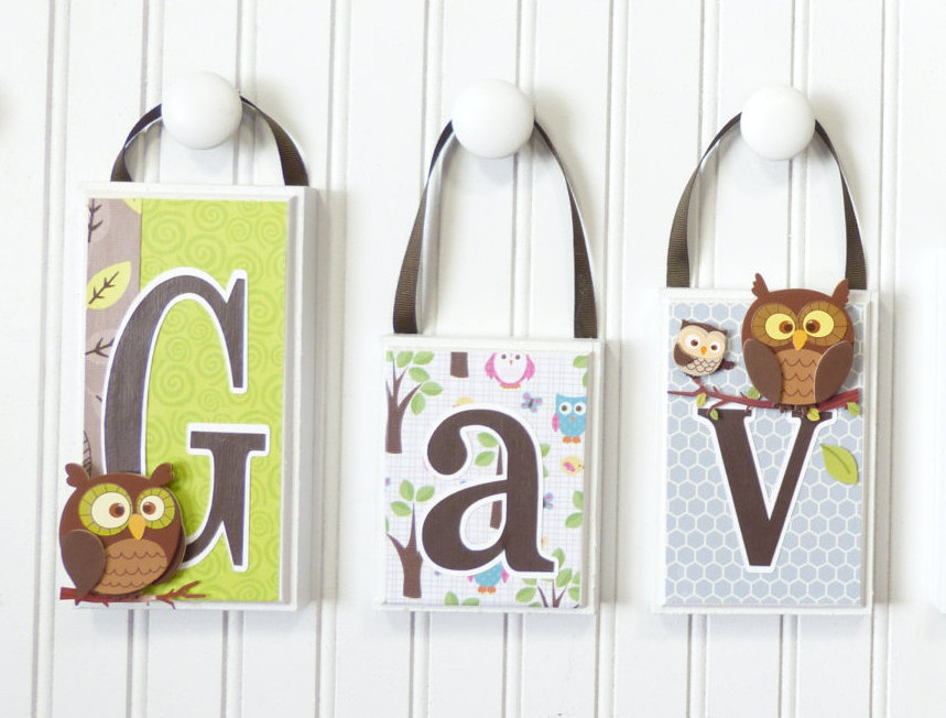 baby name blocks name block letters nursery decor boy bedroom decor