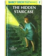 Nancy Drew 2 The Hidden Staircase Carolyn Keene... - $4.99