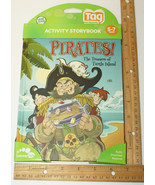 LEAPFROG TAG ACTIVITY READING STORY BOOK PIRATE... - $9.94