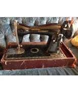 Vintage antique Universal Eversew sewing Machin... - $99.99