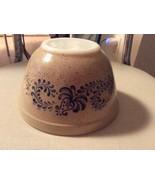 Pyrex Brown Tan Floral Homestead Cinderella Mix... - $19.99