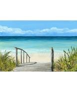 Art Print 4x6 Sea View 147 ocean beach from ori... - $7.99