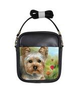 Girls Sling Bag Purse Dog 117 Yorkie Yorkshire ... - $23.99
