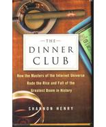 The Dinner Club Shannon Henry Hard Cover DJ  - $5.99