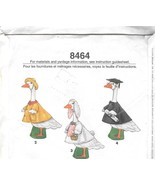 Simplicity 8464 Sewing Pattern Lawn Geese Cloth... - $15.99