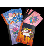 8 NEW Composition Notebooks Dubble Bubble Hot T... - $15.00