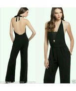 NEW GUESS by Marciano Ruby Jumpsuit Black Catsu... - $70.20