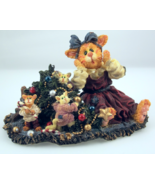 Boyds Purrstone Christmas Catastrophe figurine ... - $26.00
