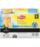 Lipton Iced Tea Lemondade Keurig K-Cups 10 Cup Box - $14.44