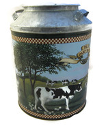 Dairy Best Butter Flavored Popcorn Tin Can Milk... - $15.00