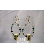 MahJong Hoop Earrings  - $15.00