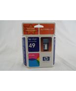 Genuine HP 51649a Tri-Color Ink Cartridge #49 N... - $14.25