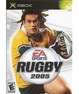 RUGBY 2005 Microsoft XBOX Game COMPLETE CIB + - $4.45