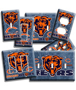 CHICAGO BEARS NFL FOOTBALL TEAM LOGO LIGHT SWIT... - $7.99 - $17.59