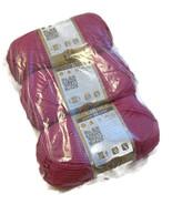 Vanna's Choice Lion Brand Berrylicious Fuscia D... - $21.00