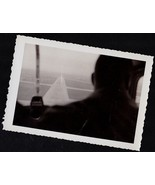 Antique Photograph Pilots Silhouette From Behin... - $7.92
