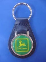 JOHN DEERE KEYCHAIN KEY CHAIN RING FOB #169 - $3.75