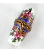 Limoges Box - Sevres Double Thimble & Scissor C... - $90.00