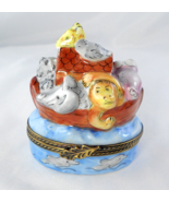 Limoges Box - Noah's Ark and Bird House - Lion ... - $95.00