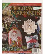 Holiday Ornaments Special Stitching Magazine Cr... - $5.50