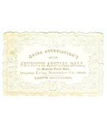 1862 ÆRINA ASSOCIATION'S Annual Ball Lady Invit... - $9.89