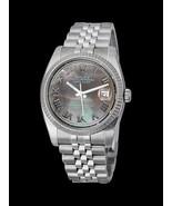 Fecha Rolex de acero inoxidable simplemente ver... - $3,536.24