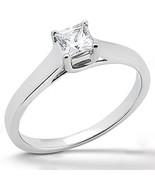 1.25 ct. Diamond Princess SOLITARIO anillo de c... - $2,615.93