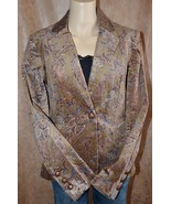 NWT Size 2 BOSTON PROPER Riding Paisley Cord Ja... - $28.99