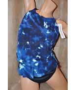 NWT MiracleSuit Magicsuit 12 Jodi Tie Dye High ... - $68.99