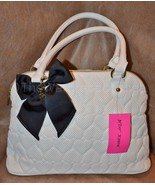 NWT Betsey Johnson BE MINE Pin Dot Dome Satchel... - $68.99