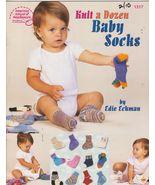 Knit a Dozen Baby Socks Edie Eckman DK Weight Y... - $6.39