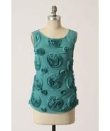Anthropologie Baraschi S Whorled Roses Tank Top... - $17.99