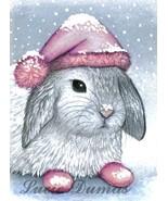 ACEO art print Hare 14 bunny rabbit by Lucie Dumas - $4.99
