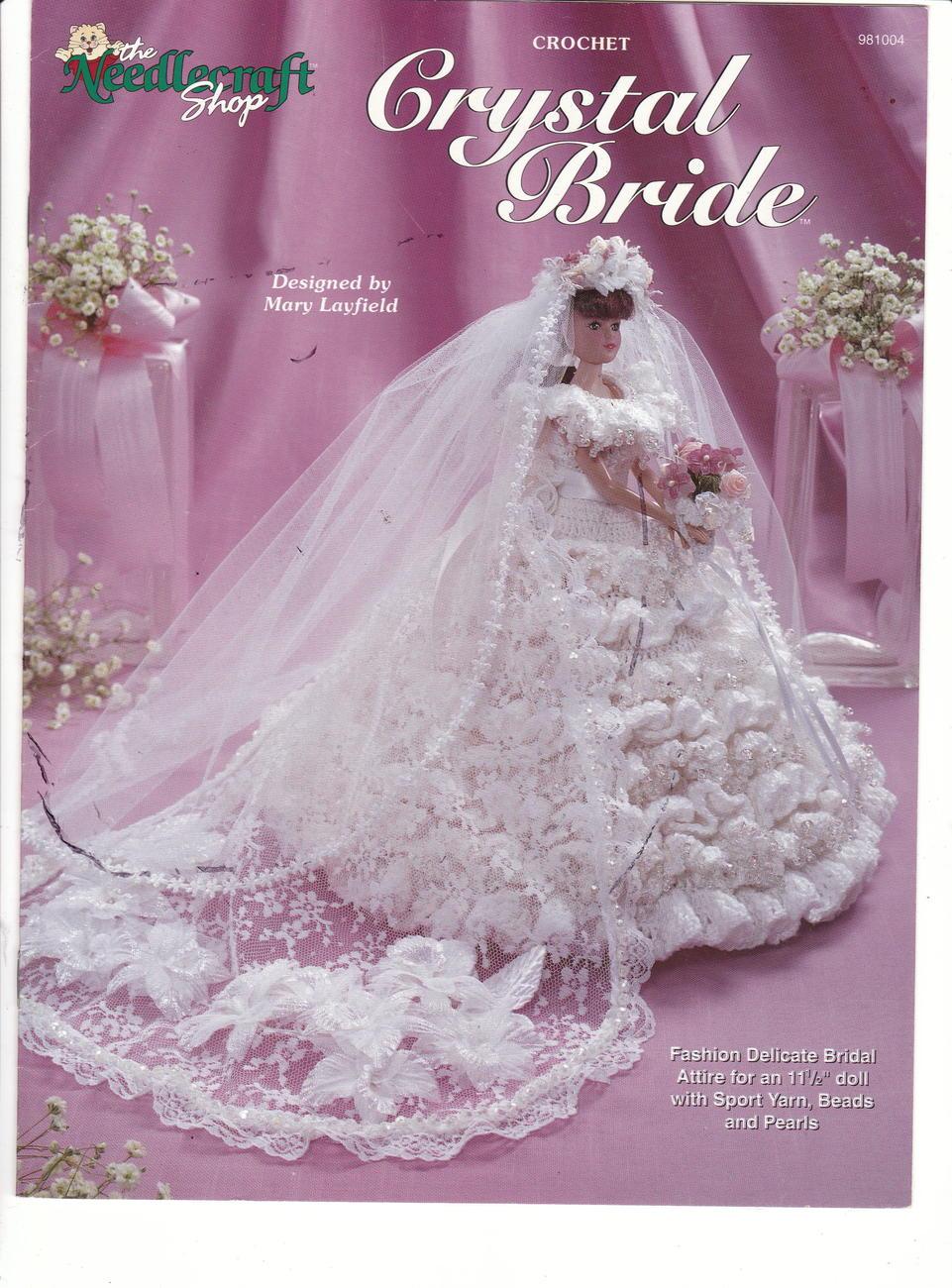 Crystal Bride Doll Crochet Clothes Pattern Fashion Doll ...