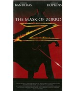 The Mask Of Zorro VHS Antonio Banderas Catherin... - $2.99