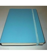 inTEMPO FIRENZE GLOSSY BABY BLUE BONDED LEATHER... - $18.99