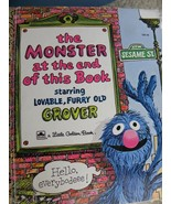Little Golden Book The Monster at the End of Th... - $6.26