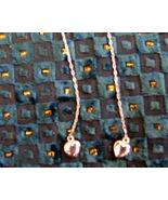 Silver Hearts Threader Earrings.Avon - $3.50