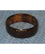 Vintage Guyana Wood Bangle Bracelet - $9.00