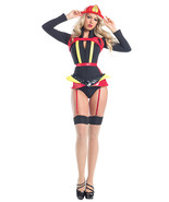 Be Wicked Sexy Hearts Afire Fireman Woman Hallo... - $71.00 - $95.00