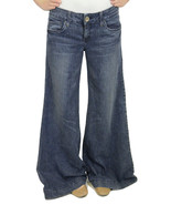 Authentic Juicy Couture Super Flare Wide Leg Tr... - $189.00