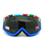 Ski Snowboard Goggles Blue Colorful Polka Dot A... - $20.95
