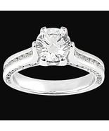 6 Ajuste del diente Ronda de diamantes anillo d... - $3,126.33