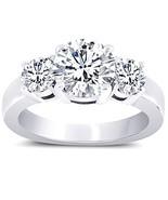 Anillo aniversario del compromiso de 3 diamante... - $8,149.40