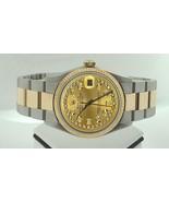Fecha solo diamante OYESTER Rolex reloj luxuryw... - $4,179.46