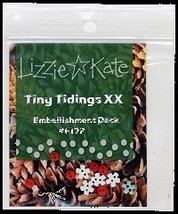 EMBELLISHMENT PACK for Tiny Tidings XX LK172E c... - $6.00