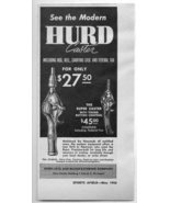 1950 Vintage Ad Hurd Super Caster Fishing Reels and Rods Detroit,MI - $9.95