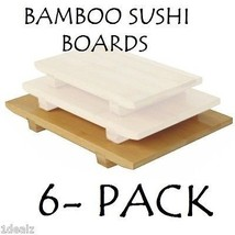BRAND NEW Large Bamboo Sushi Serving Board 10 1... - $73.20